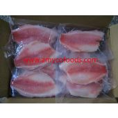 Frozen black tilapia fillet good quality good pric